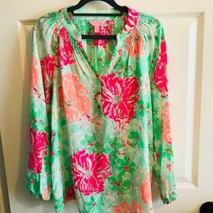 Lilly Pulitzer Elsa Top Size Small